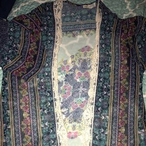 Women's Kimono / coverup- XS Brand new/ never worn